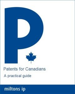 Patents for Canadians cover