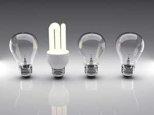 Light Bulbs 3D Rendering