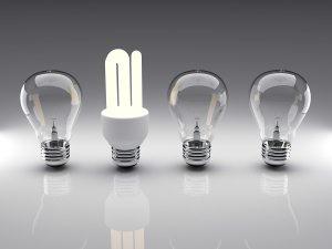 Light Bulbs 3D Rendering